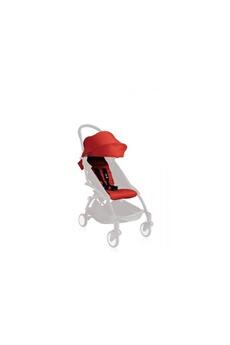Accessoire poussette Babyzen Yoyo+ 6+ pack couleur - rouge (comprend 1 capote 6+, 1 coussin)