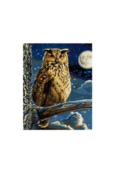 Peinture et dessin Schipper Mnz - the eagle owl-master of the night