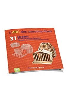Kapla Jouecabois L'abc des constructions tome 2