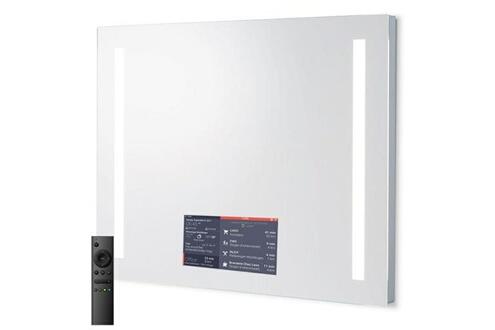 Ad Notam Miroir connecté moon light 90x75x7 avec applications personnalisables