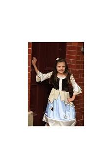 Déguisements filles Travis Costume reversible princess / pauper 2 in 1 blue/gold - 3 à 5 ans