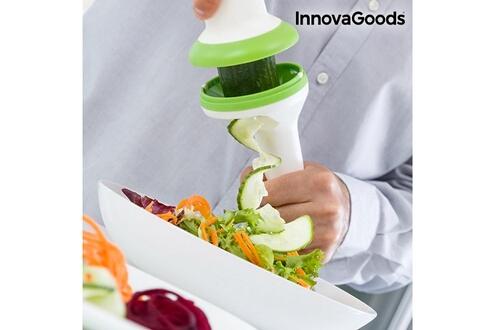 Ht Coupe legumes en spirale 3en1 carotte concombre good
