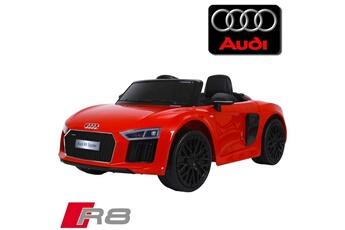 Véhicule électrique Petite voiture électrique bébé enfant 12 volts nouvelle  audi r8 pack luxe rouge à 3f21bcae9060