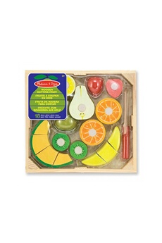 Jeux d'imitation Melissa And Doug Cutting fruit