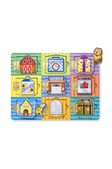 Jeux ludo éducatifs Melissa And Doug Magnetic hide & seek board