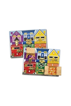 Jeux ludo éducatifs Melissa And Doug Latches board
