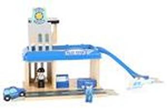 Jeux ludo éducatifs LEGLER Offre - jeu en bois - poste de police - legler 10797