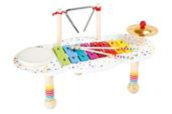 Jeux ludo éducatifs LEGLER *plusdispoen2017* jeu musical - table à musique 'sound' - legler 10385