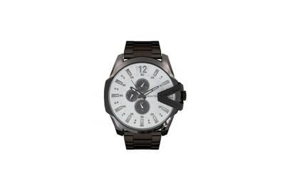 Noir Villiers Steel Bracelet 4 Homme Acier Louis Et Blanc Montre En 50mm Lvag8912 Cadran QrhCxtsd