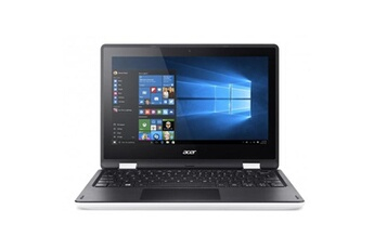 Acer Pc portable acer - aspire r3-131t-c8ml blanc - 11,6 hd - intel celeron n3060 - 32go emmc - ram 4 go - intel hd graphics - win10