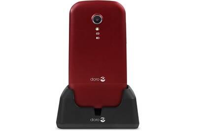 t l phone portable doro telephones mobiles sans abonnement 2404 rouge darty. Black Bedroom Furniture Sets. Home Design Ideas