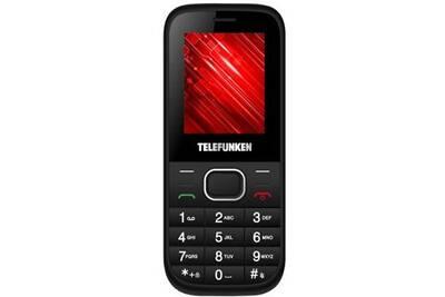 t l phone portable telefunken telephones mobiles sans abonnement tm 9 1 noir darty. Black Bedroom Furniture Sets. Home Design Ideas