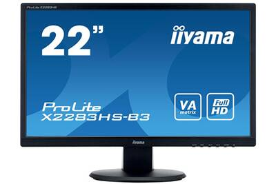Ecran pc iiyama moniteurs xb 2283 hs b 3 darty for Comparateur ecran pc