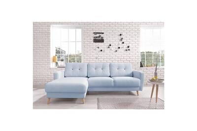 canap d 39 angle bobochic canap scandi angle gauche bleu poudr darty. Black Bedroom Furniture Sets. Home Design Ideas