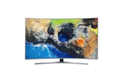 tv led samsung samsung ue55mu6505 t l viseur incurv led 4k 55 39 darty. Black Bedroom Furniture Sets. Home Design Ideas