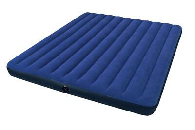 Matelas Intex Matelas Gonflable 2 Personnes Intex Downy Classic Xxl