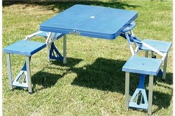 CAO Table valise pique-nique - bleue