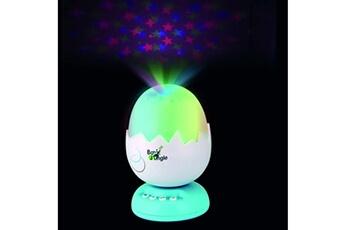 Mobile bébé Bo Jungle B-egg projecteur musical de nuit turquoise