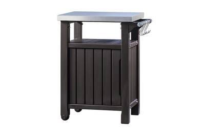 Ensemble table et chaise de jardin Keter Unité de stockage de jardin ...