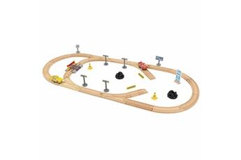 Trains KIDKRAFT Ensemble de piste 57 pcs disney pixar cars 3 17213