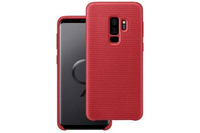 new lower prices newest best wholesaler Coque officiel samsung galaxy s9 plus hyperknit cover - rouge
