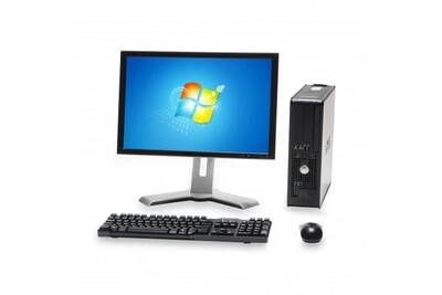 PC de bureau Dell Pc dell optiplex 760 sff intel dual core e5200 2.5ghz 4go  480 ssd 19 wifi windows xp 5274ad573033