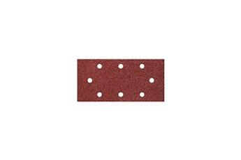 WOLFCRAFT 5 Patins  abrasifs auto-agrippant perforés grain 80
