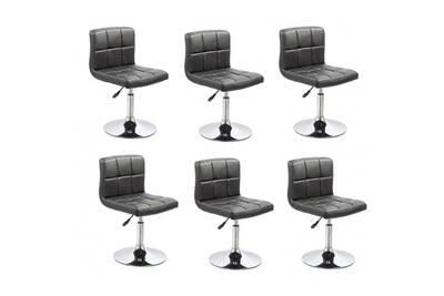 Ensemble Table Chaise Decoshop26 Lot De 6 Chaises De Salle A