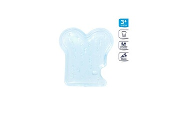 DIFRAX Jouet de dentition rempli d'eau Anneau de dentition Bleu