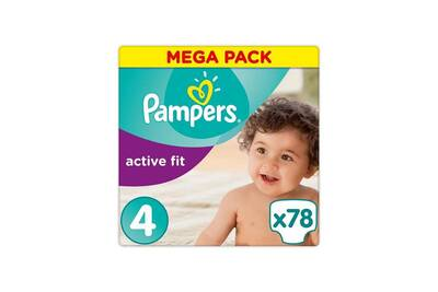 Couches Pampers Pampers Active Fit Taille 4 7 A 18 Kg 78 Couches