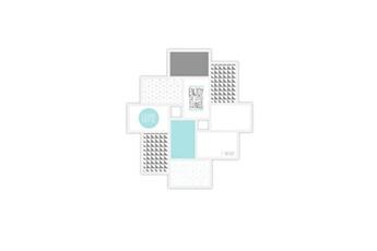 Pêle mêle Imagine Imagine détroit cadre cadre multivues - 10 vues - blanc