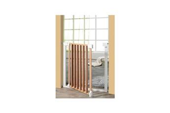 Barrière de sécurité bébé Geuther Geuther barriere vario safe sans percer naturel et métal 74,5 - 82,5 cm