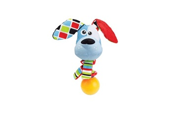 Eveil & doudou bio Yookidoo Yookidoo hochet chien
