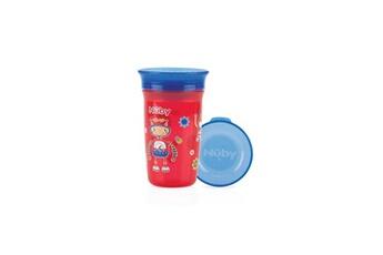 Biberon Nuby Nuby gobelet magique 360° - 300ml - rouge - 6m+