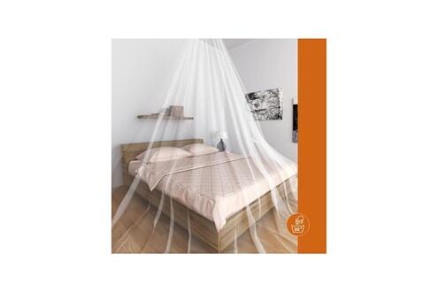 Provence Outillage Windhager moustiquaire ciel de lit single - blanc