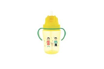 Vaisselle bébé DODIE Dodie tasse paille +18 mois 350 ml jaune