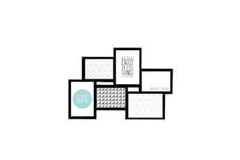 Pêle mêle Imagine Imagine détroit cadre multivues - 6 vues - noir