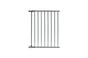FIRST BABY SAFETY Extension de barrière de sécurité enfant pare feu Vector - 60 cm - Anthracite