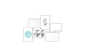 Pêle mêle Imagine Imagine détroit cadre multivues - 6 vues - blanc