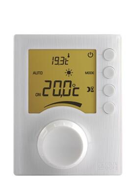 Thermostat et programmateur de chauffage Delta Dore Thermostat d'ambiance avec molette tybox 33 sans fil