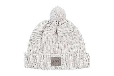 Casquette enfant JOLLEIN Bonnet pour bébé 9 à 18 mois jollein confetti knit  - naturel abe508d7fa8