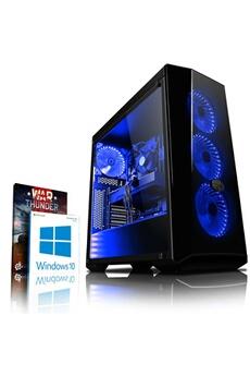 Vibox Vibox trident gs560-33 pc gamer ordinateur avec war thunder jeu bundle, windows 10 os (4,0ghz intel i5 6-core processeur, nvidia geforce gtx 1060 carte graphique, 8gb ddr4 2133mhz ram, 1tb hdd)