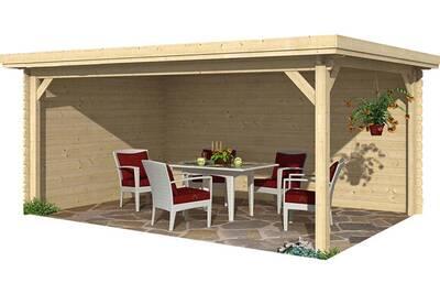 Abri de jardin Garden Houses International Kiosque en bois grand ...
