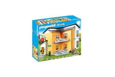 Playmobil playmobil 9266 maison moderne playmobil city for Maison moderne playmobil 2018