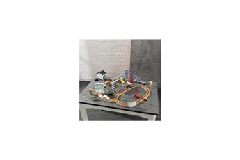 Circuits de voitures KIDKRAFT Ensemble thomasville 50 pieces cars 3 disney pixar