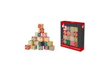 Jouets premier âge Juratoys-janod Kubix 16 cubes alphabet graves