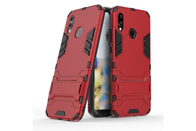 Huawei p20 lite anti choc rouge coque housse etui antichoc hfs-house®