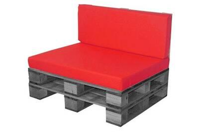 Coussin pour chaise de jardin Coreme Pack coussin assise+dos ...