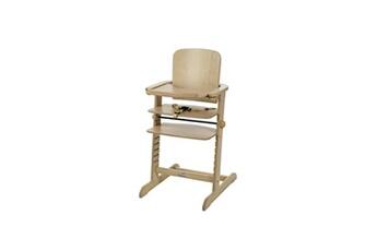 Chaise haute Geuther Geuther chaise haute évolutive family en hetre - naturel - tablette incluse