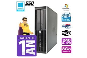 Hp Pc hp 8200 sff intel g630 8go disque 240go ssd graveur wifi w7
